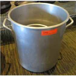 "Large Metal Stock Pot 15"" Diameter & Small Pot 11"" Diameter"