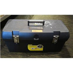 "Stanley 24"" Heavy Duty Tool Box w/ Removable Tray"
