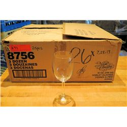 Qty 28 Libbey Napa Country Goblet Glasses 10 oz