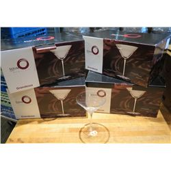 Qty 4 Boxes (24 pcs) Grandezza Cocktail Martini Glasses 8 oz