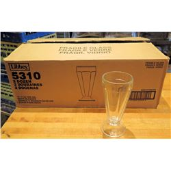 Qty 280 Libbey Soda Glasses 11.5 oz
