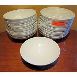 "Qty Approx. 20 Sant' Andres Royal Porcelain Bowls 10"" Diameter"