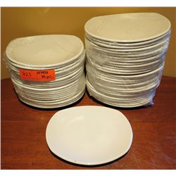 "Qty Approx. 45 Steelite International England Rounded Plates 8"" Diameter"
