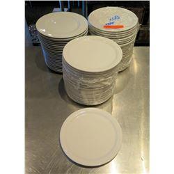 "Qty 69 World Porcelana Round Plates 9"" Diameter"