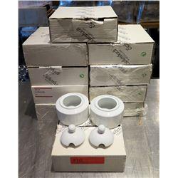 Qty 10 Boxes (2 pcs each=20) Eschenbach Sugar Bowls w/ Lids