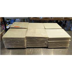"""Qty 60 Syracuse Royal Rideau Square White Plates 11"""" Diameter"""