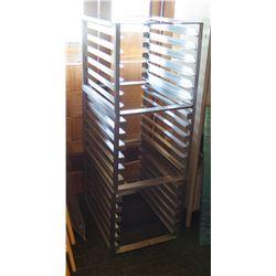"Commercial Metal Pan Storage Racks 21""x27.5""x23"" (3 units)"