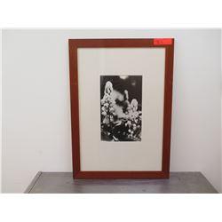 Framed Black & White Photographic Print
