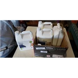 4 JUGS DIFFERENT BONA FLOOR SEALER, 2 FULL
