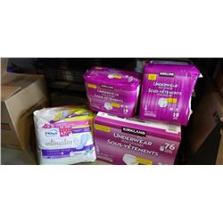 Lot of Kirkland adult diapers