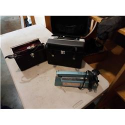 VITNAGE REEL TO REEL, VIDEO CAMERA AND BAG SEALER