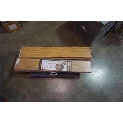 4 BOXES LAMINATE FLOORING - TAIGA SELECT