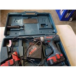 BOSCH 18V CORDLESS DRILL AND CHARGER
