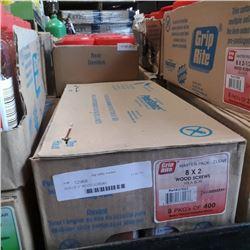 """BOX OF 2"""" WOOD SCREWS"""