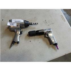 2 AIR GUNS - RATCHET AND DRILL