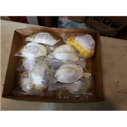 Lot of 3M individually packed dust particulate masks
