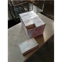 Box of new disposable gloves size medium