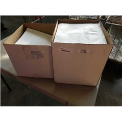 2 boxes of absorbant drapes