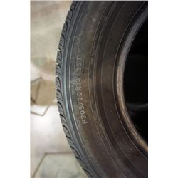 FOUR 14 INCH TIRES