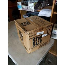CASE OF STOP SLIP HEAVY DUTY FLOOR CLEANER AND TRACITON TREATMENT