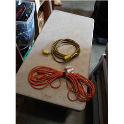 2 EXTENTION CORDS