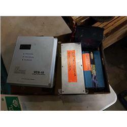 SOLAR HEAT DISSIPATER, VOLTAGE CONTROL SYSTEM AND 900 WATT INVERTER