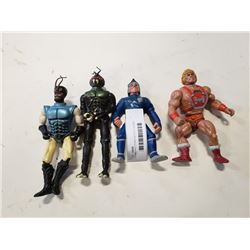 HE MAN AND OTHER ACTION FIGURES