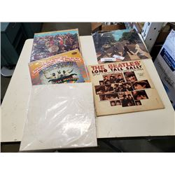5 BEATLES RECORDS