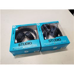 2 NEW STUDIO IN BOX HEADPHONES