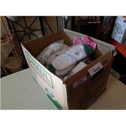 Box of new socks