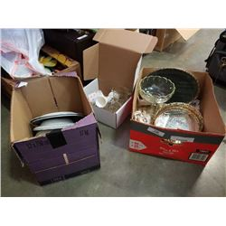 3 boxes of spode, copeland, johnson bros china and more