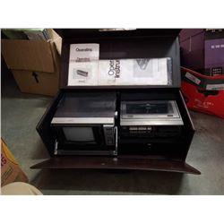 Vintage panasonic  CT- 500 V tv and cassette combo