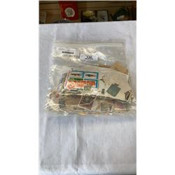 3 LARGE BAGS OF VARIOUS STAMPS