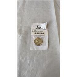 1951 CANADIAN 1 DOLLAR COIN