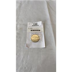1939 CANADIAN 1 DOLLAR COIN