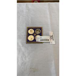 Richmond centennial 1 dollar coins