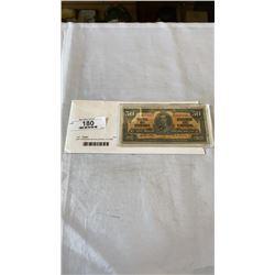 1937 CANADIAN 50 DOLLAR BILL IN CASE