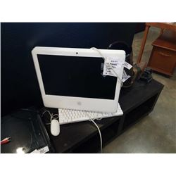 IMAC A1174 COMPUTER WITH MOUSE AND KEYBOARD