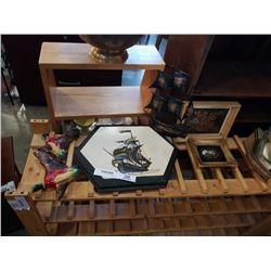 SHIP PLAQUES, WALL ART