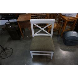 LARGE WHITE CHAIR