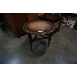 Samuelsson furnature carved end table