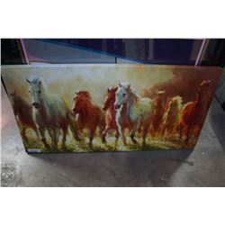 CANVAS HORSE PRINT