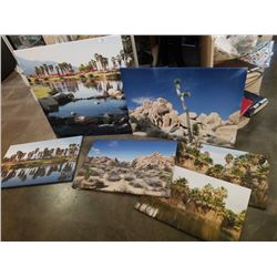 LOT OF CANVAS PRINTS