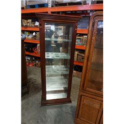 PULASKI FURNITURE GLASS DISPLAY CABINET