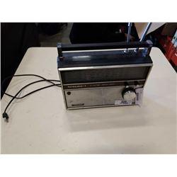 Realistic patrolman six vintage radio