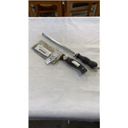 CARL WEILL HACKMESSER ROSTEREI CLEAVER AND SHARPENER