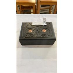 FIRST NATIONS JEWELRY BOX
