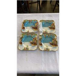 4 Grimwades royal wintons plates
