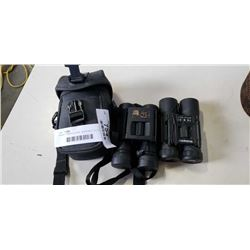 PAIRS OF BINOCULARS - BUSHNELL 10 X 25 AND TASCO 8 X 25 IN CASE