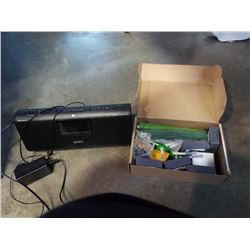 ROOMBA REPLACEMENT PARTS AND SONY BLUETOOTH RADIO